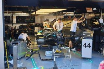Car of Lewis Hamilton, Mercedes F1 AMG