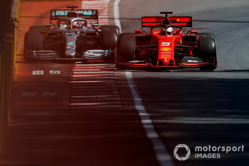 "Hamilton reports Vettel ""dangerously"" returning to the track"