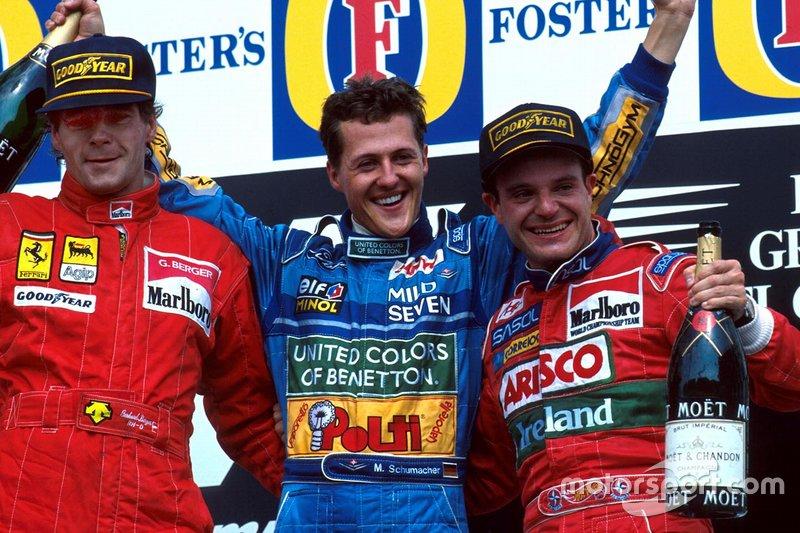7. Rubens Barrichello, 1994 - GP do Pacífico