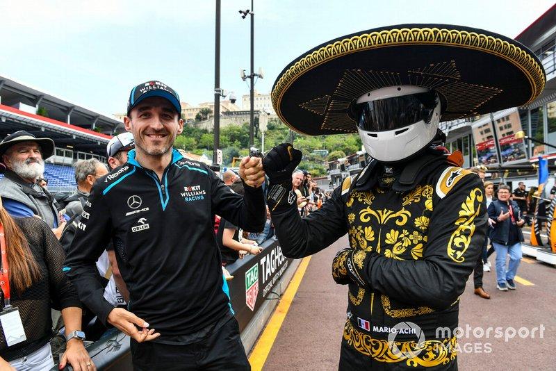Robert Kubica, Williams Racing and Mario Achi, Mexican GP Promoter