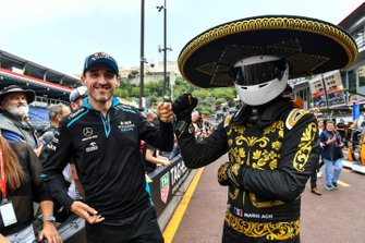 Robert Kubica, Williams Racing and Mario Achi, Mexican GP Promoter