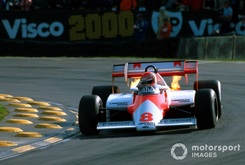 Niki Lauda, McLaren MP4-1E
