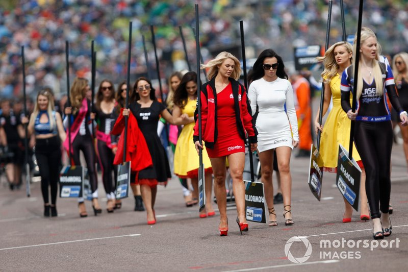 BTCC Grid Girls