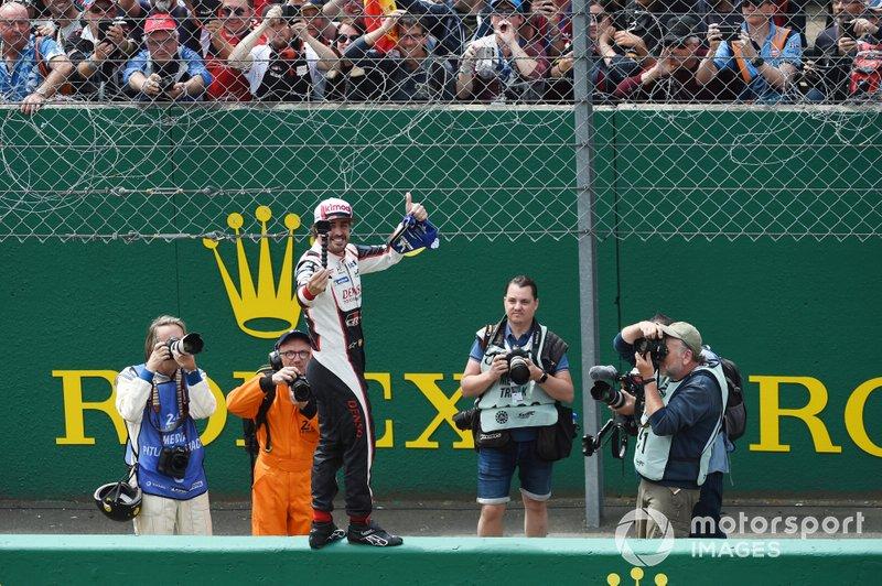 Ganador Fernando Alonso, Toyota Gazoo Racing