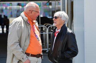 Bernie Ecclestone, presidente emérito de la Fórmula 1