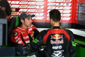 Toprak Razgatlioglu, Turkish Puccetti Racing, Kenan Sofuoglu, Kawasaki Puccetti Racing
