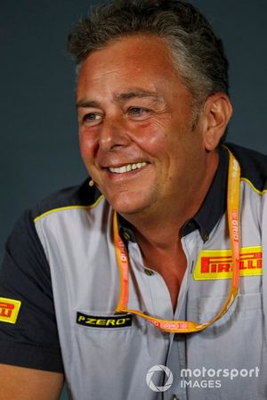 Mario Isola, Racing Manager, Pirelli Motorsport, in the Team Principals Press Conference