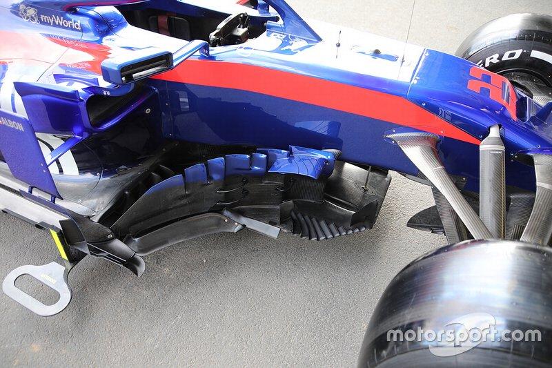 Область дефлекторов Toro Rosso STR14