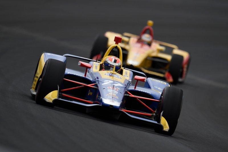 #27 Alexander Rossi, NAPA AUTO PARTS, Andretti Autosport Honda
