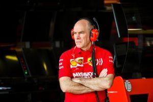 Jock Clear, ingeniero de carreras, Ferrari