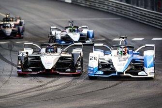 Sébastien Buemi, Nissan e.Dams, Nissan IMO1 Antonio Felix da Costa, BMW I Andretti Motorsports, BMW iFE.18