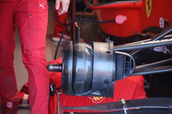 Ferrari SF90 front brake detail