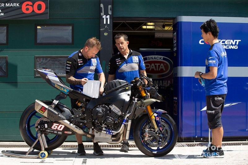 Michael van der Mark, Pata Yamaha bike