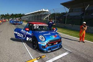 Paolo Maria Silvestrini, Emmeauto by Melatini Racing, in griglia di partenza