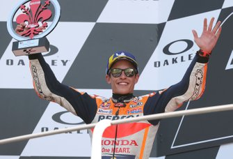 Podium: second place Marc Marquez, Repsol Honda Team