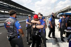 Ben Hanley, DragonSpeed Chevrolet crew celebration