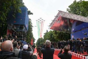 Esibizione delle Frecce Tricolore