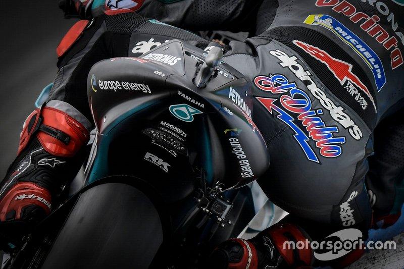 Fabio Quartararo, Petronas Yamaha SRT detalle trasero