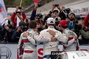Robin Frijns, Audi Sport Team Abt Sportsline, Marco Wittmann, BMW Team RMG, Mike Rockenfeller, Audi Sport Team Phoenix