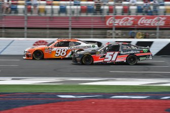 Chase Briscoe, Stewart-Haas Racing, Ford Mustang Nutri Chomps/Pet Supermarket, Jeremy Clements, Jeremy Clements Racing, Chevrolet Camaro RepairableVehicles.com