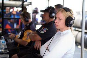 #57 Heinricher Racing w/Meyer Shank Racing Acura NSX GT3, GTD: Christina Nielsen