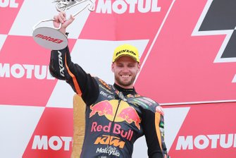 Podium: second place Brad Binder, KTM Ajo