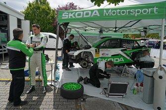 Jan Kopecky, Skoda Fabia R5 Evo