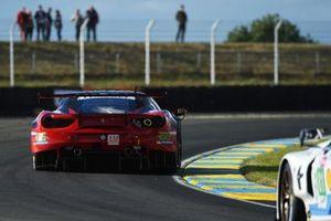 Мотоаки Ишикава, Оливье Беретта, Эдвард Чивер, MR Racing, Ferrari 488 GTE (№70)