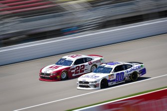 Austin Cindric, Team Penske, Ford Mustang LTi Printing, Cole Custer, Stewart-Haas Racing, Ford Mustang Jacob Companies