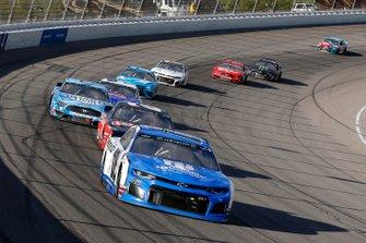 Alex Bowman, Hendrick Motorsports, Chevrolet Camaro Nationwide and Erik Jones, Joe Gibbs Racing, Toyota Camry Craftsman / Sport Clips