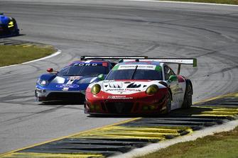 #58 Wright Motorsports Porsche 911 GT3 R, GTD: Patrick Long, Christina Nielsen, Robert Renauer, #67 Chip Ganassi Racing Ford GT, GTLM: Ryan Briscoe, Richard Westbrook, Scott Dixon