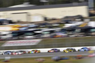 Alex Bowman, Hendrick Motorsports, Chevrolet Camaro Nationwide, Ryan Blaney, Team Penske, Ford Fusion REV