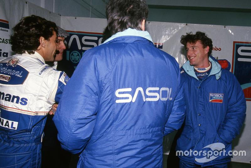 Ayrton Senna, Williams, Eddie Irvine, Jordan, 1994