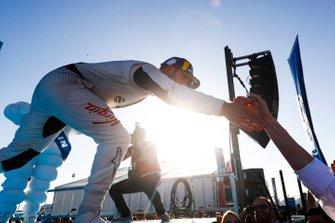 Robin Frijns, Envision Virgin Racing, 2e plaats, in Parc Ferme