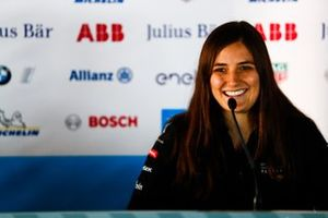 Tatiana Calderon, DS TECHEETAH, in the press conference