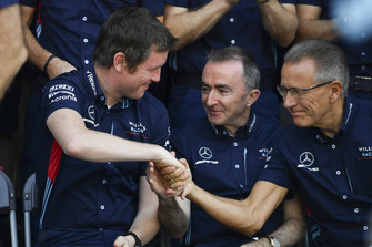 Rob Smedley, Williams Head of Vehicle Performance and Paddy Lowe, Williams Shareholder and Technical Director at the Williams Racing Team Photo