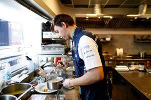 Le chef Maxim Letunovskiy, invité de Williams