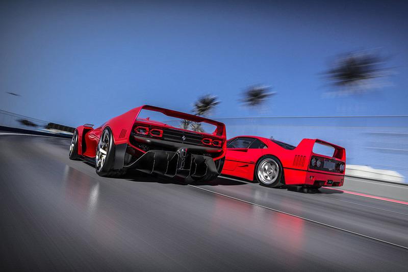 Ferrari F40 Tribute at Ferrari F40 Tribute High-Res ...
