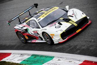 Ferrari 488 #557, Scuderia Lebanon: tani Hanna