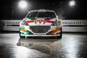 Presentazione della livrea speciale della Peugeot 208 T16 R5 di Paolo Andreucci e Anna Andreussi, Peugeot Sport Italia