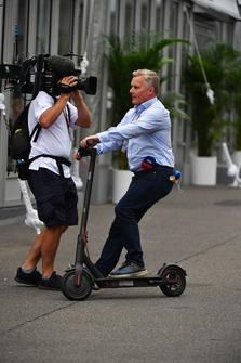 Johnny Herbert, Sky TV on a scooter