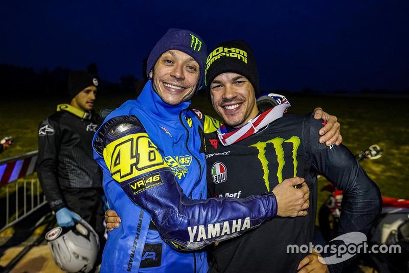 Valentino Rossi et Franco Morbidelli