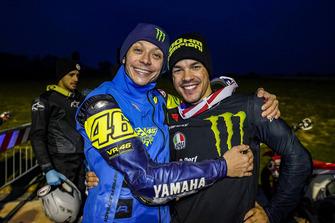 Valentino Rossi y Franco Morbidelli