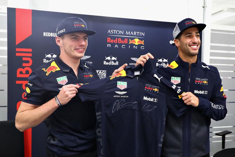 Daniel Ricciardo neemt afscheid van Red Bull Racing
