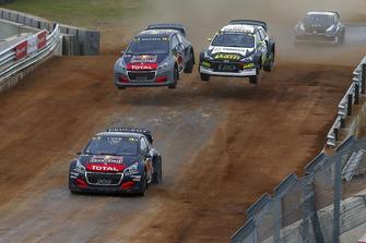 Sébastien Loeb, Team Peugeot Total, Timmy Hansen, Team Peugeot Total, Timur Timerzyanov, GRX Taneco