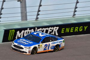 Paul Menard, Wood Brothers Racing, Ford Fusion Quick Lane Tire & Auto Center