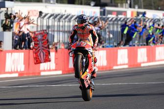 Le vainqueur et Champion du monde, Marc Marquez, Repsol Honda Team