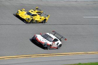 #912 Porsche GT Team Porsche 911 RSR, GTLM: Mathieu Jaminet, Earl Bamber, #84 JDC-Miller Motorsports Cadillac DPi, DPi: Simon Trummer, Stephen Simpson, Chris Miller, Juan Piedrahita