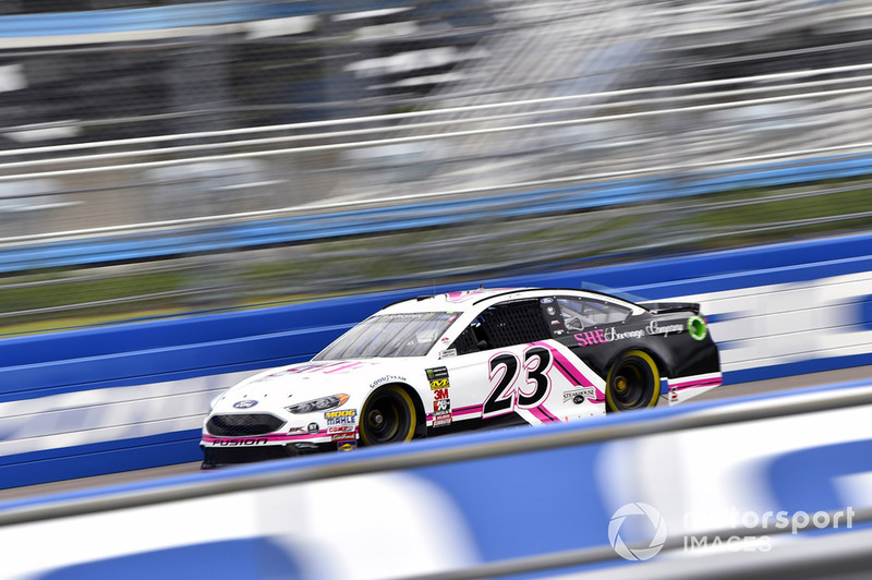 33. J.J. Yeley, BK Racing, Ford Fusion She Beverage Company