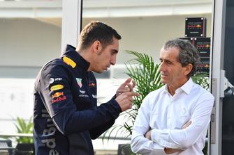 Себастьен Буэми и советник Renault Sport F1 Team Ален Прост